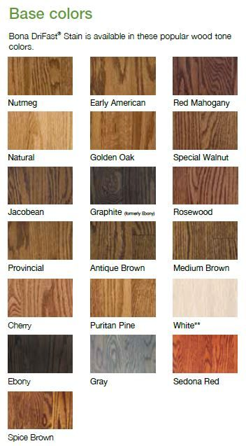 Bona Drifast Stain Bona Floor Stain Colors Wood Floor Stain