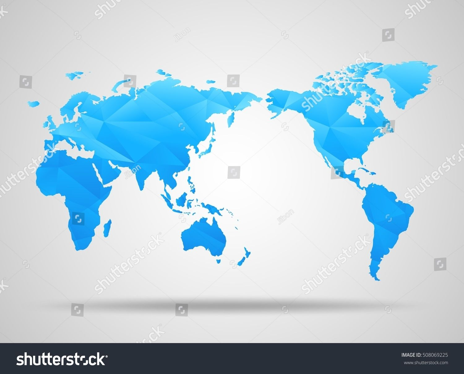 World map low poly design blue origami planet mappemonde carte world map low poly design blue origami planet gumiabroncs Images