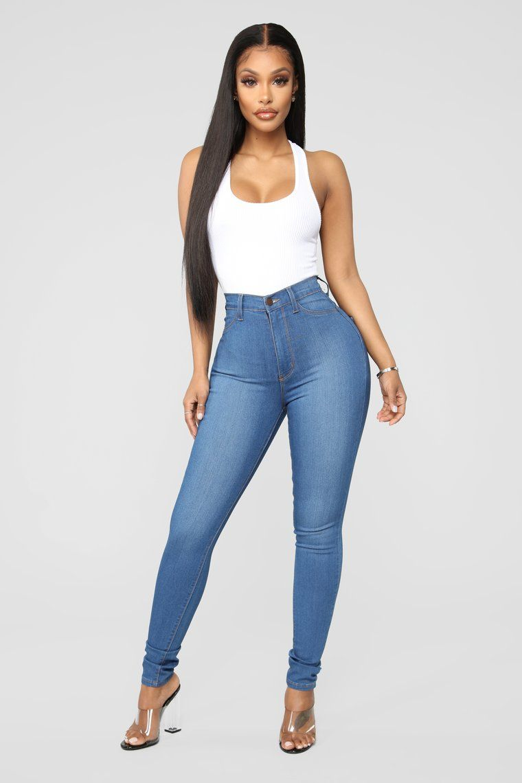 eefd36ca43 Classic Beauty Skinny Jeans - Medium Blue Wash in 2019 | Fashionnova ...