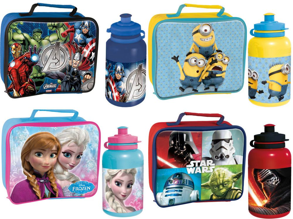 Kids Character School Insulated Thermal Bag