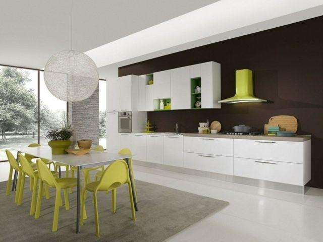 Bella di aran cucina Pinterest Contemporary and Kitchens - salon sejour cuisine ouverte