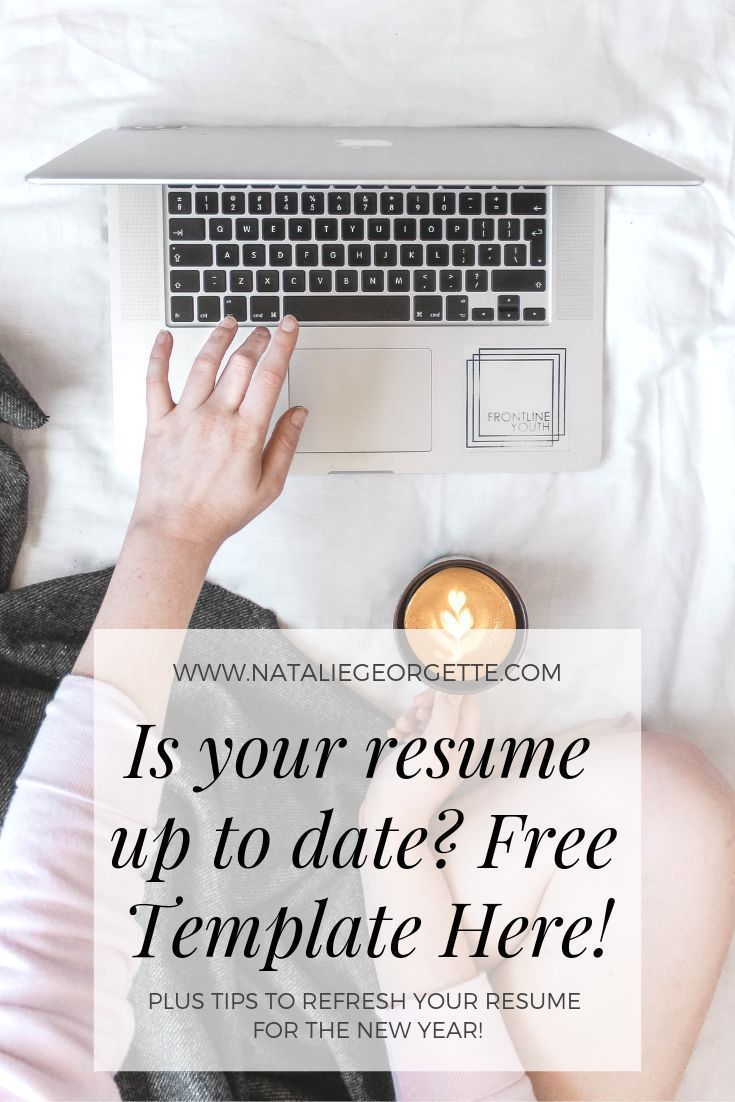 Five ways to refresh your resume for the new year resume