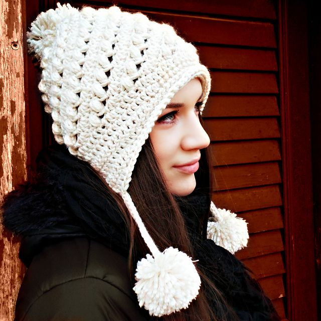 Ella Hat pattern by Viktoria Gogolak | Sombreros de ganchillo ...