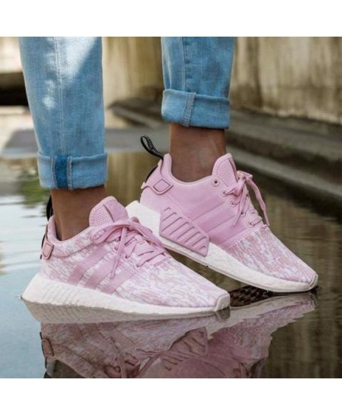 save off 3d1bd c6793 Adidas NMD R2 Womens Baby Pink oh my goodness youre crazy delete all