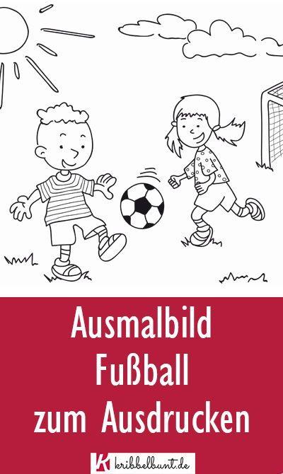 ausmalbilder fußball » kostenlos als pdf  ausmalbilder