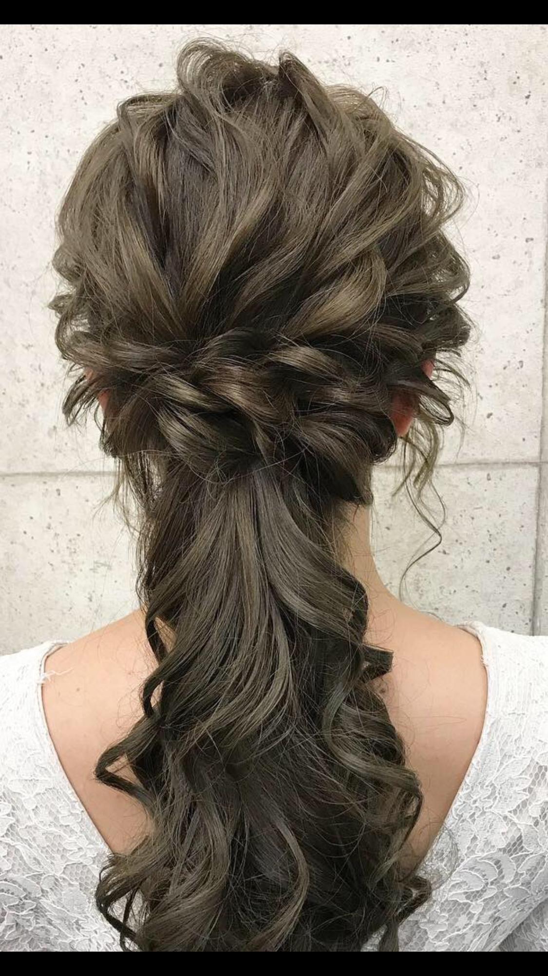 ハーフアップ Hairstyles 美しいヘアスタイル ヘアセット ロング 袴 ヘアスタイル ハーフアップ