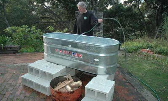 japanese soaking tub outdoor diy. Make a Solar Hot Tub in One Day for  300 tubs Tubs and Jet pump