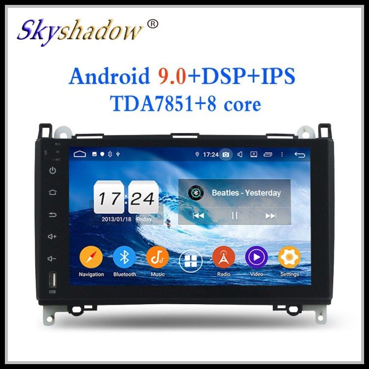 Cheap 2 Din Android 9 0 For Benz W169 W245 Viano Vito 2009 2010 2011 4gb 32gb 8 Core Car Dvd Player Wifi Blue Cheap Car Audio Music Radio The Beatles Yesterday