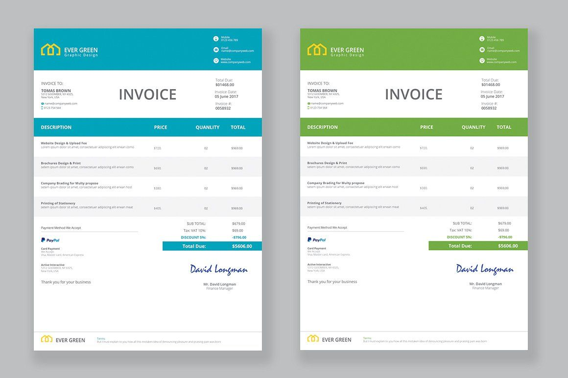 Invoice Invoice Template Word File Invoicing