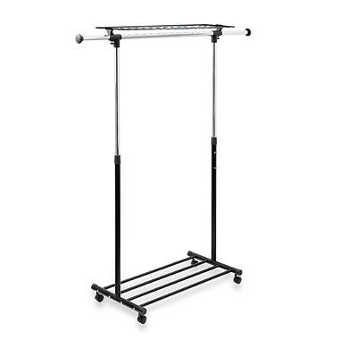 Bed Bath And Beyond Garment Rack Stunning Buy Garment Rack With Shelf & Shoe Rack From Bed Bath & Beyond Decorating Design