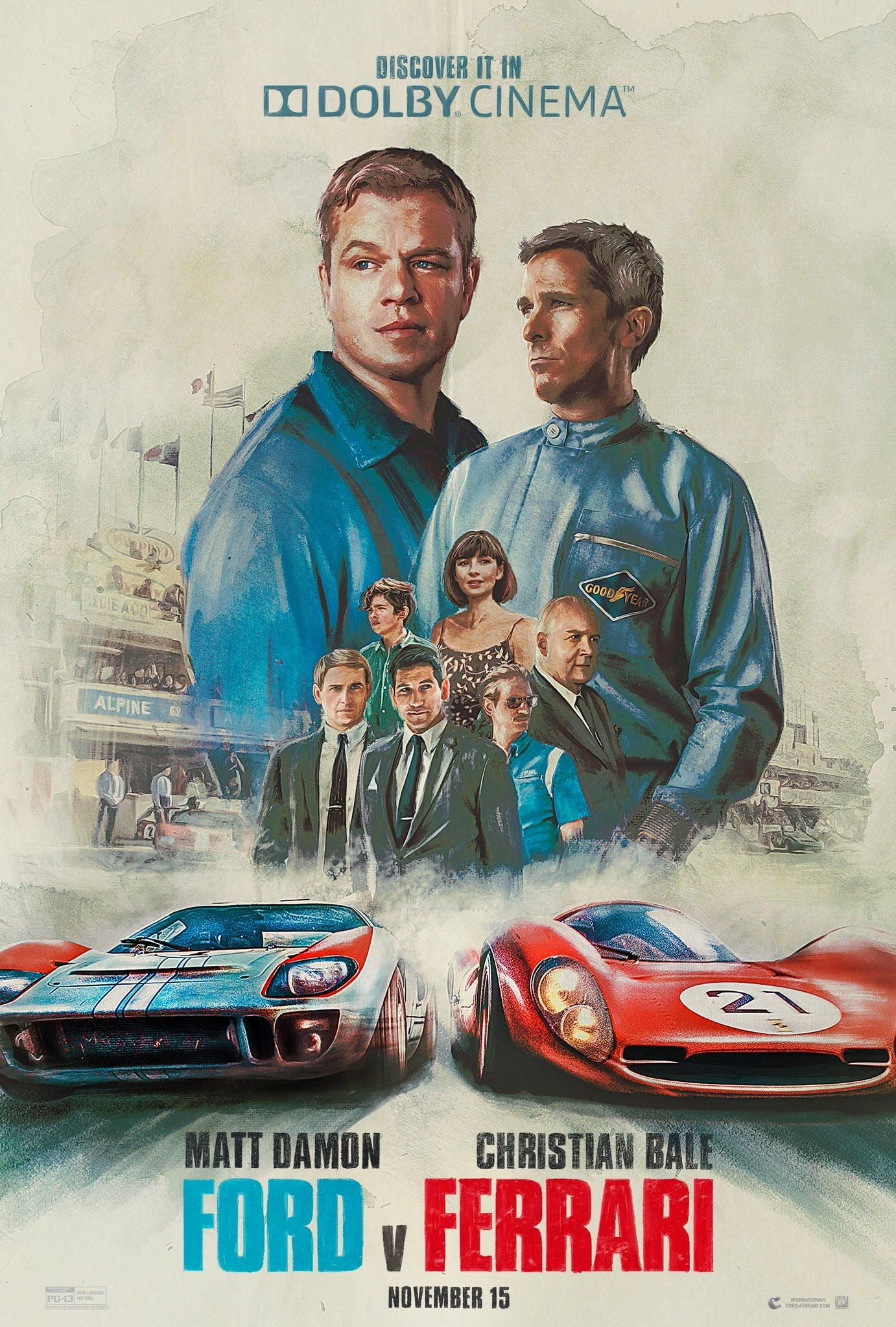 Ford V Ferrari Dolby Cinema Poster Https Ift Tt 2rb6pq1