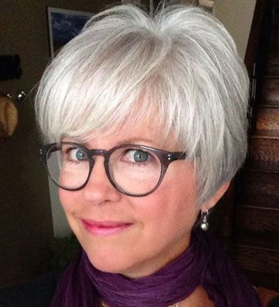 50 Best Hairstyles For Thin Hair Over 50 Stylish Older Women Photos Short Haircut Styles Hair Styles Hair Styles For Women Over 50