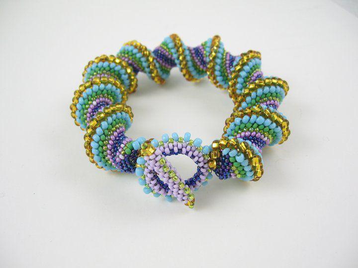 Bead East Cellini Spiral - so pretty!