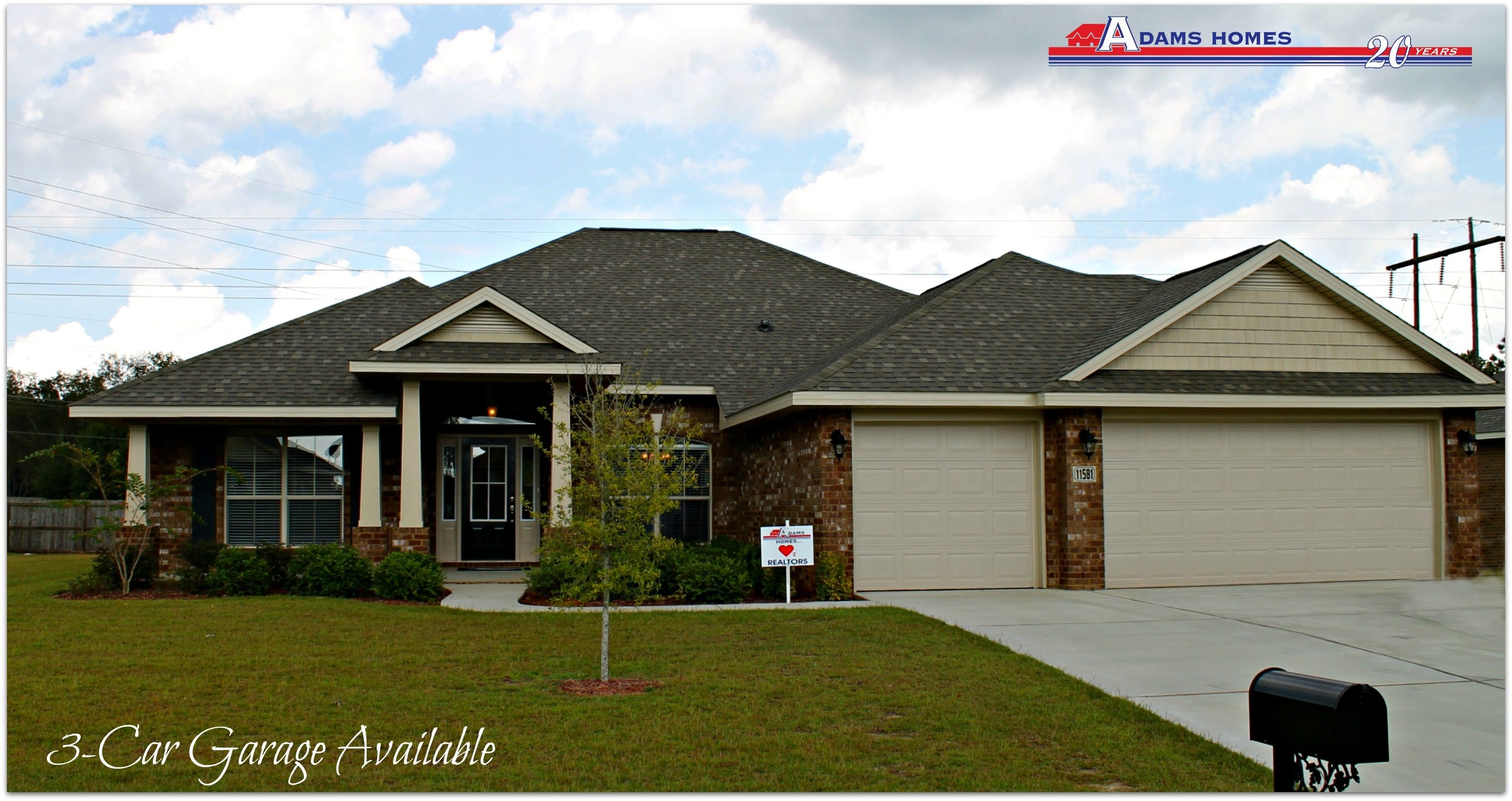 Featured home the adams homes 2 265 adamshomes for Adams homes plans