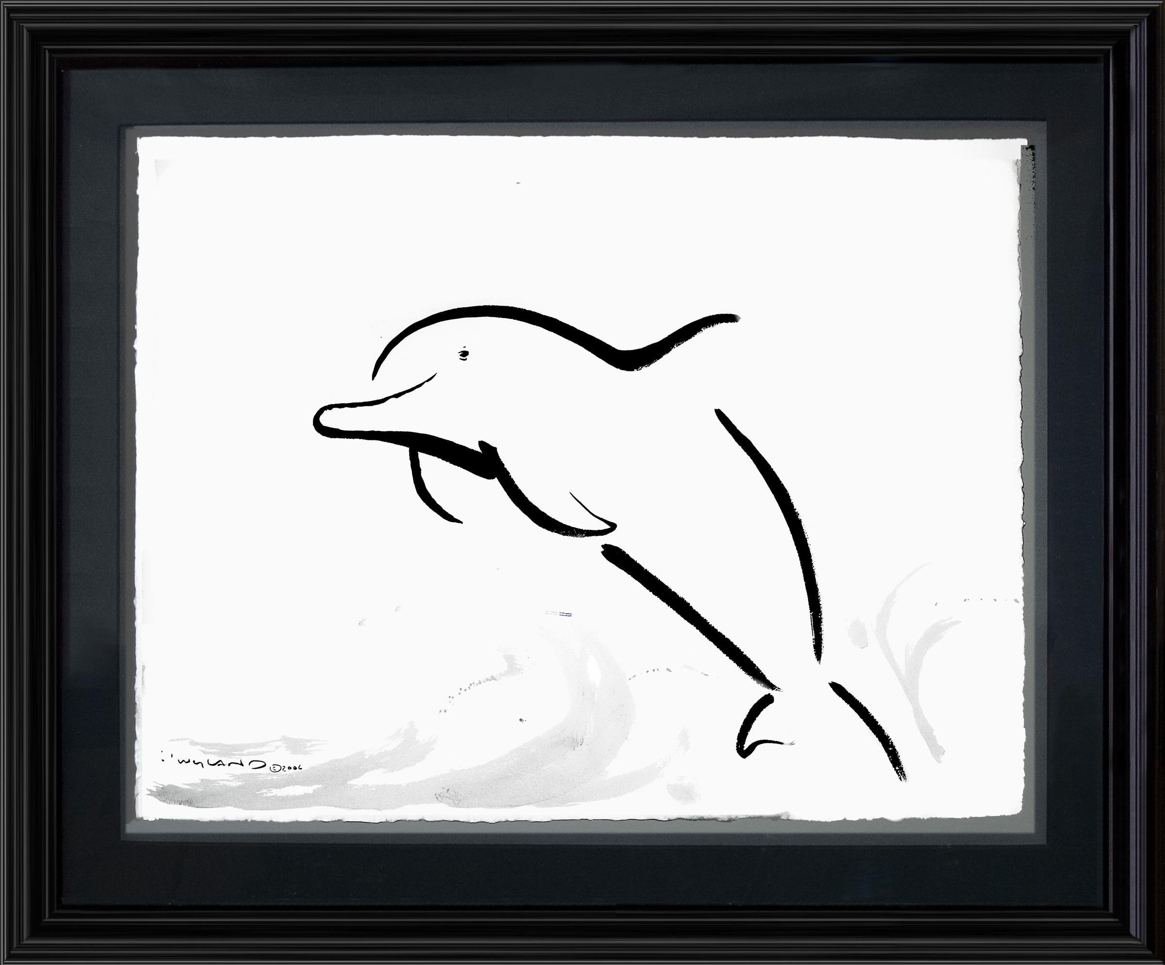 Wyland bottlenose dolphin sumi e eric carle pinterest wyland bottlenose dolphin sumi e reviewsmspy