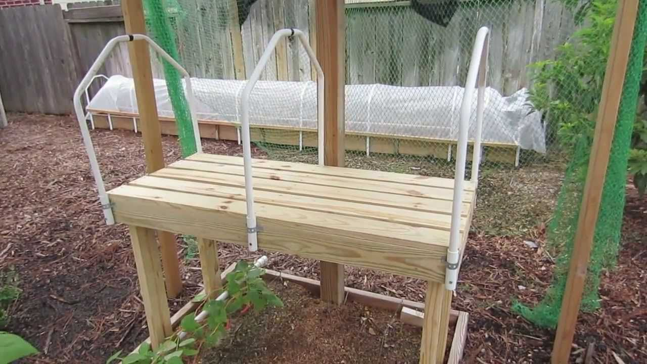 DIY Seedling Grow Table Plans & Design | Raised garden beds ... on raised bed aquaponics, raised bed plans, raised bed greenhouse growing, raised bed kits,