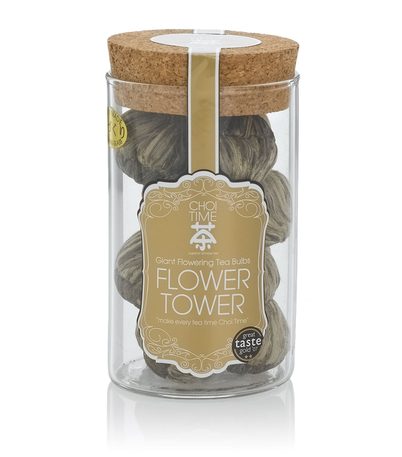Choi Time Flower Tower Giant Flowering Tea (12 bulbs