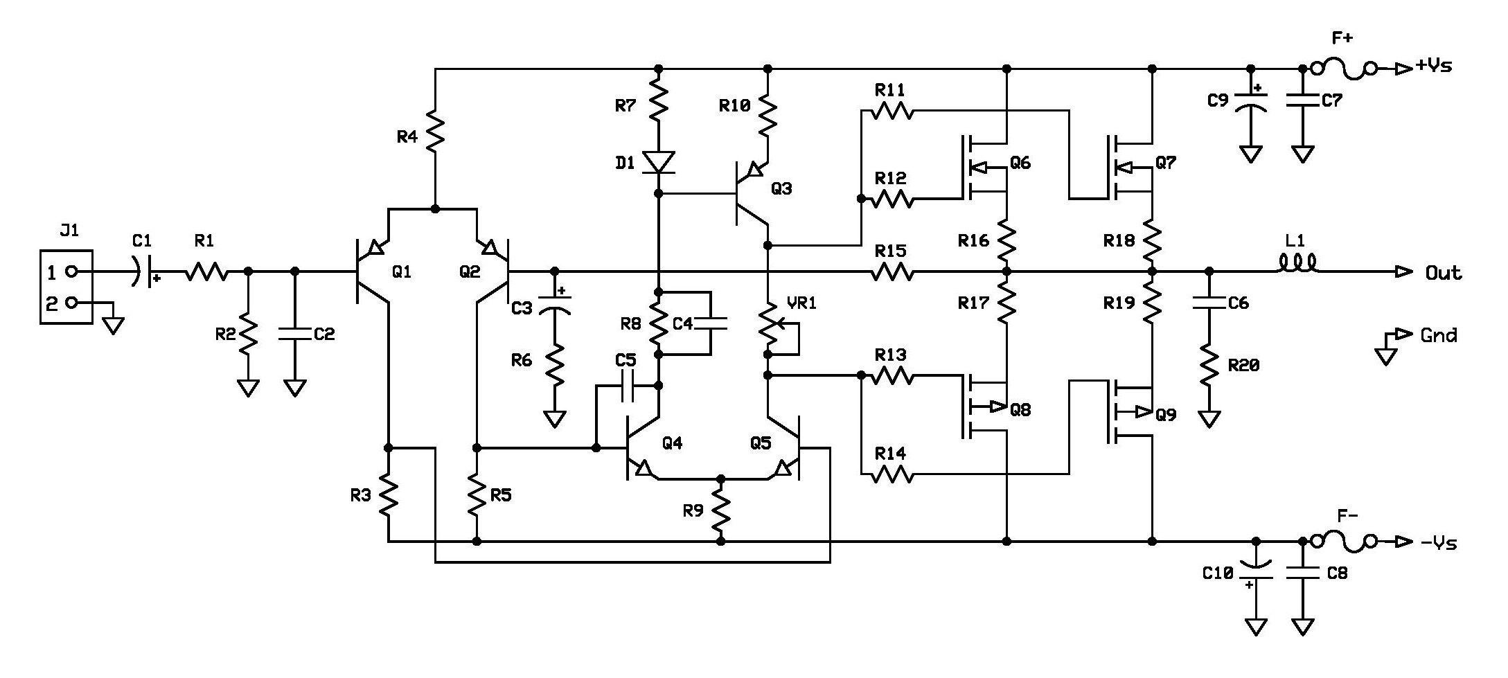 Mosfet Amplifier Schematic Diagram Wiring Will Be A Thing 600 Watt Power Circuit Circuits Anfi Pinterest Rh Com
