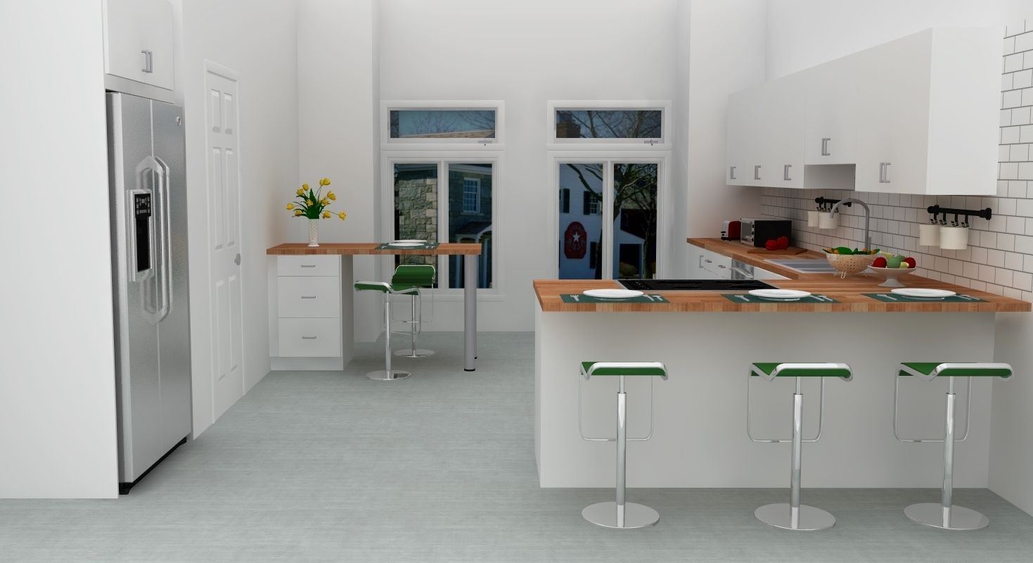 Image Result For L Shaped Kitchen Cabinet With Bar Counter Scandinavian Kitchen Design Minimalist Kitchen Design Modern L Shaped Kitchens