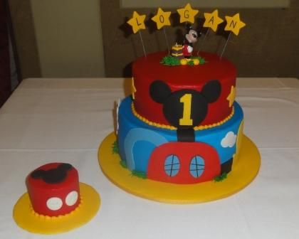 mickey mouse club 1st birthday cakes mickey mouse club house
