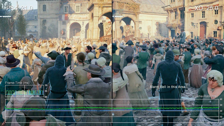 Assassin S Creed Unity On Pc Vs Xbox One Vs Ps4 Graphics