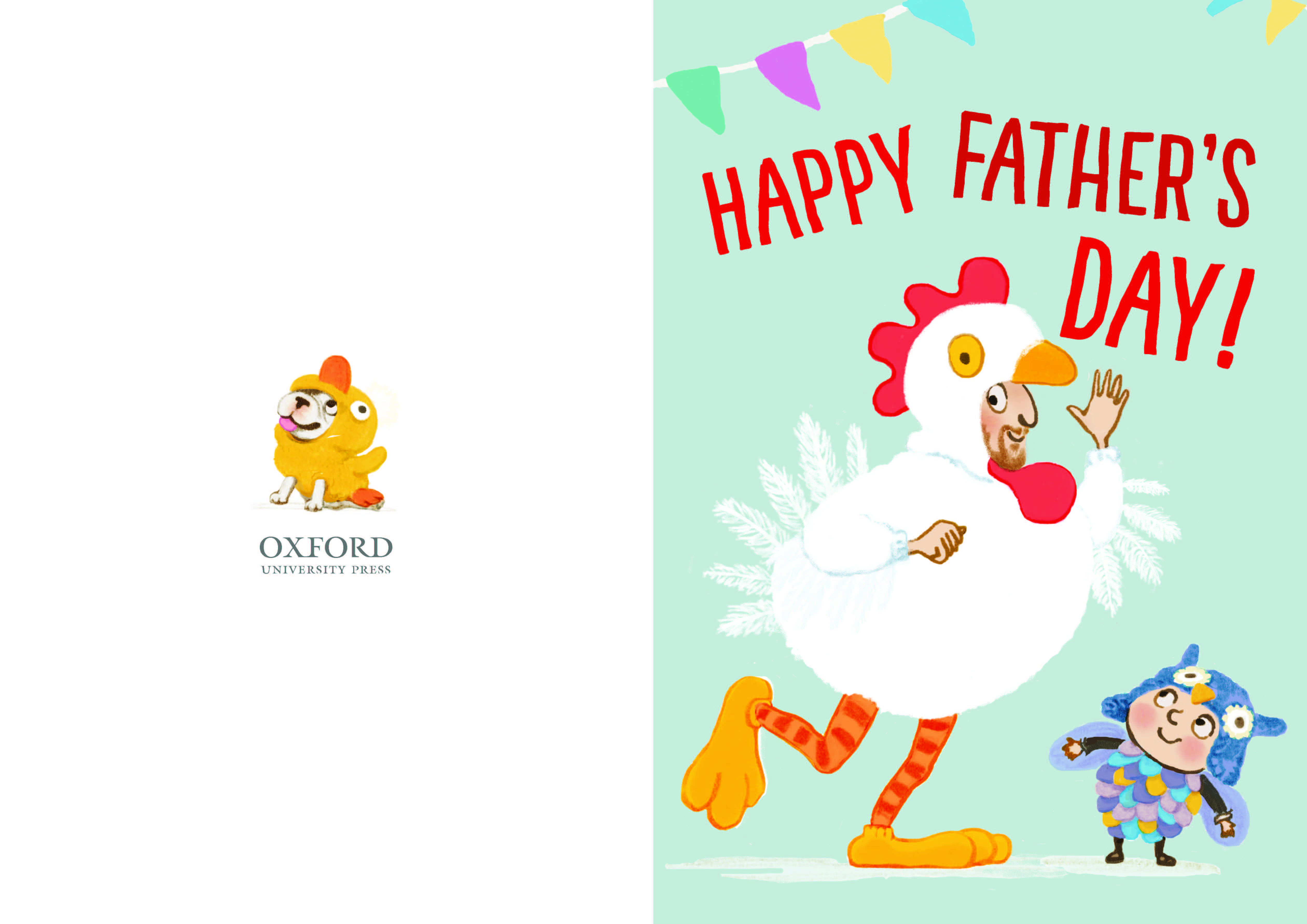 Printable Dressing Up Dad Father S Day Card