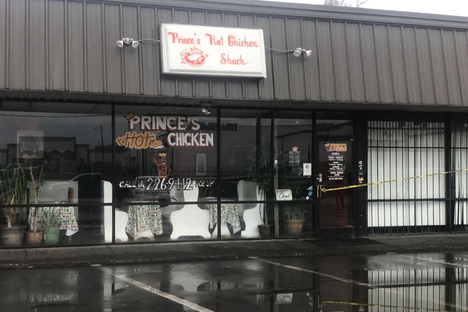 Prince's Hot Chicken on Ewing Drive Will Not Reopen Hot