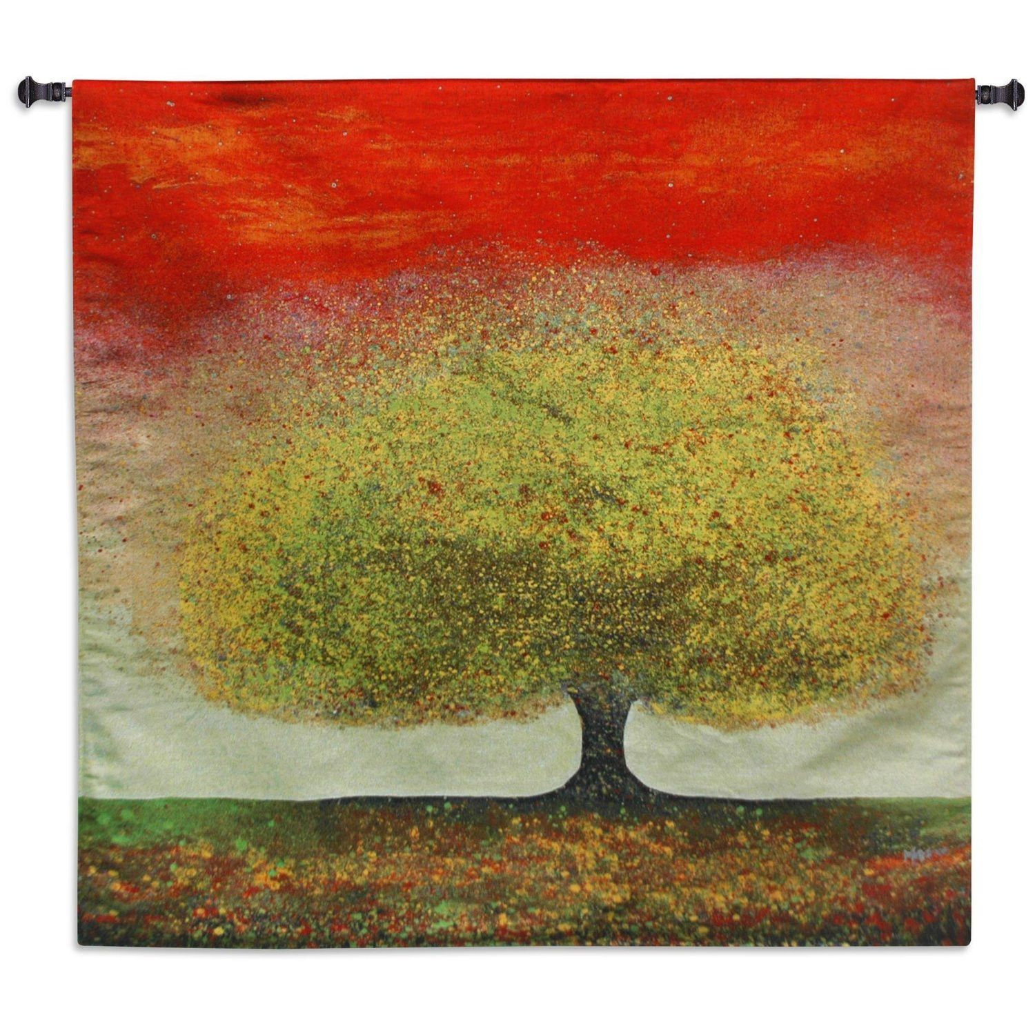 Dreaming Tree Red Wall Tapestry by Melissa Graves Brown© | Products ...