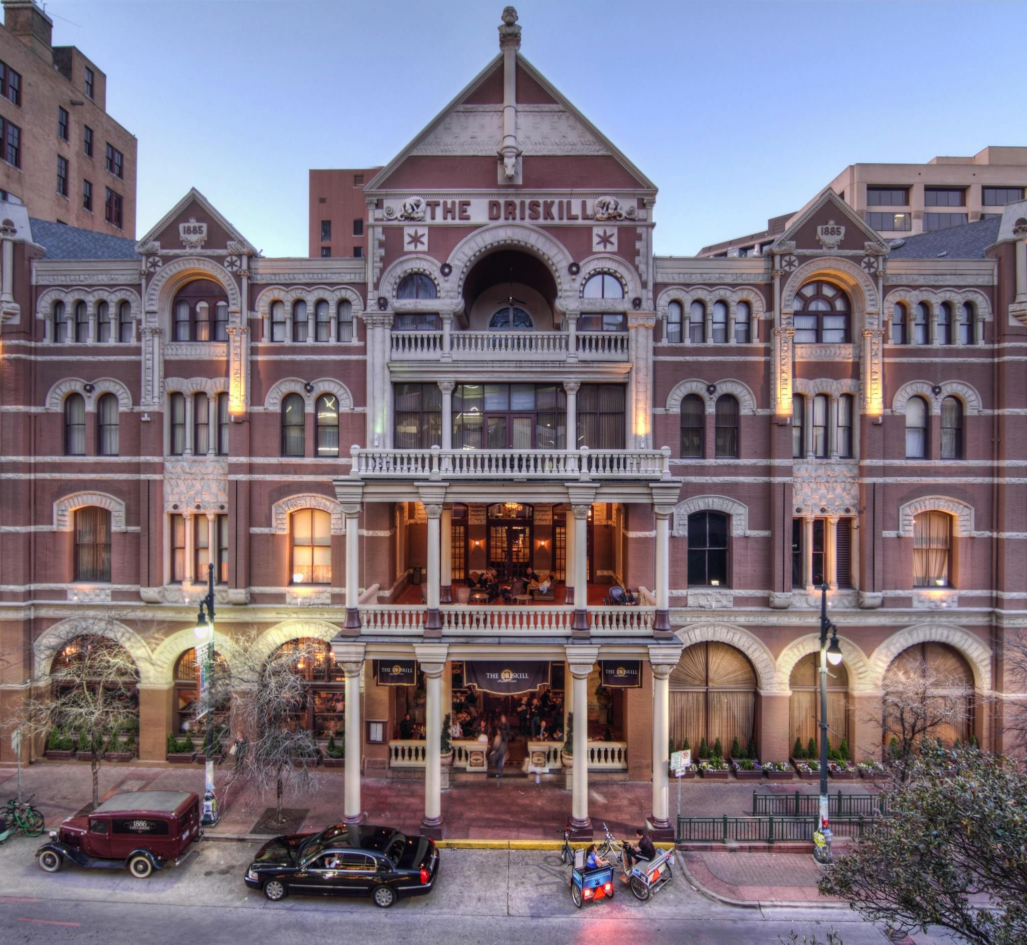 The Driskill Hotel 6th Street Austin Texas With Images