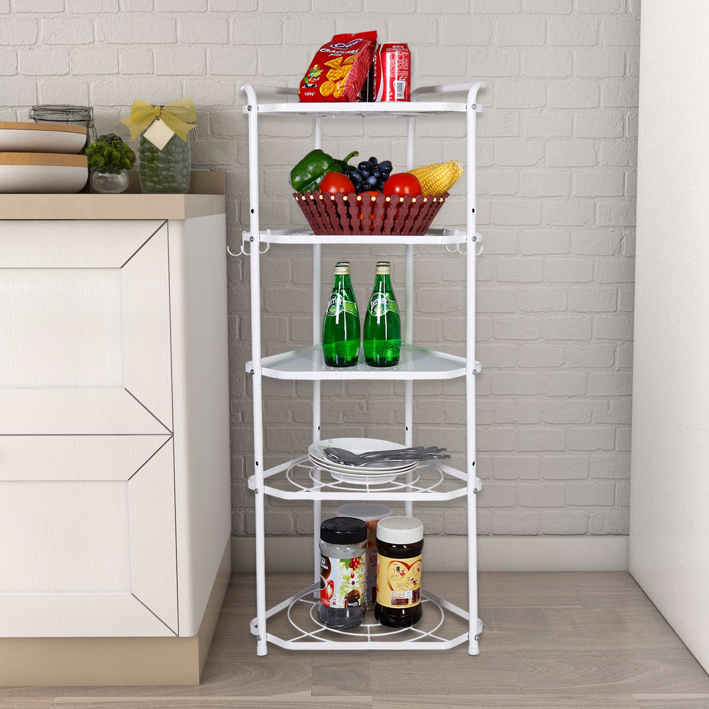 Lifewit Corner Shelf 5 Tiers Cookware Stand Metal Free ...