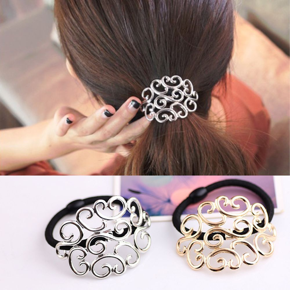 0.99 - Women Hairband Tie Pearl Fashion Ponytail Elastic Holder Band Hair  Accessories  ebay  Fashion 87748761d1c