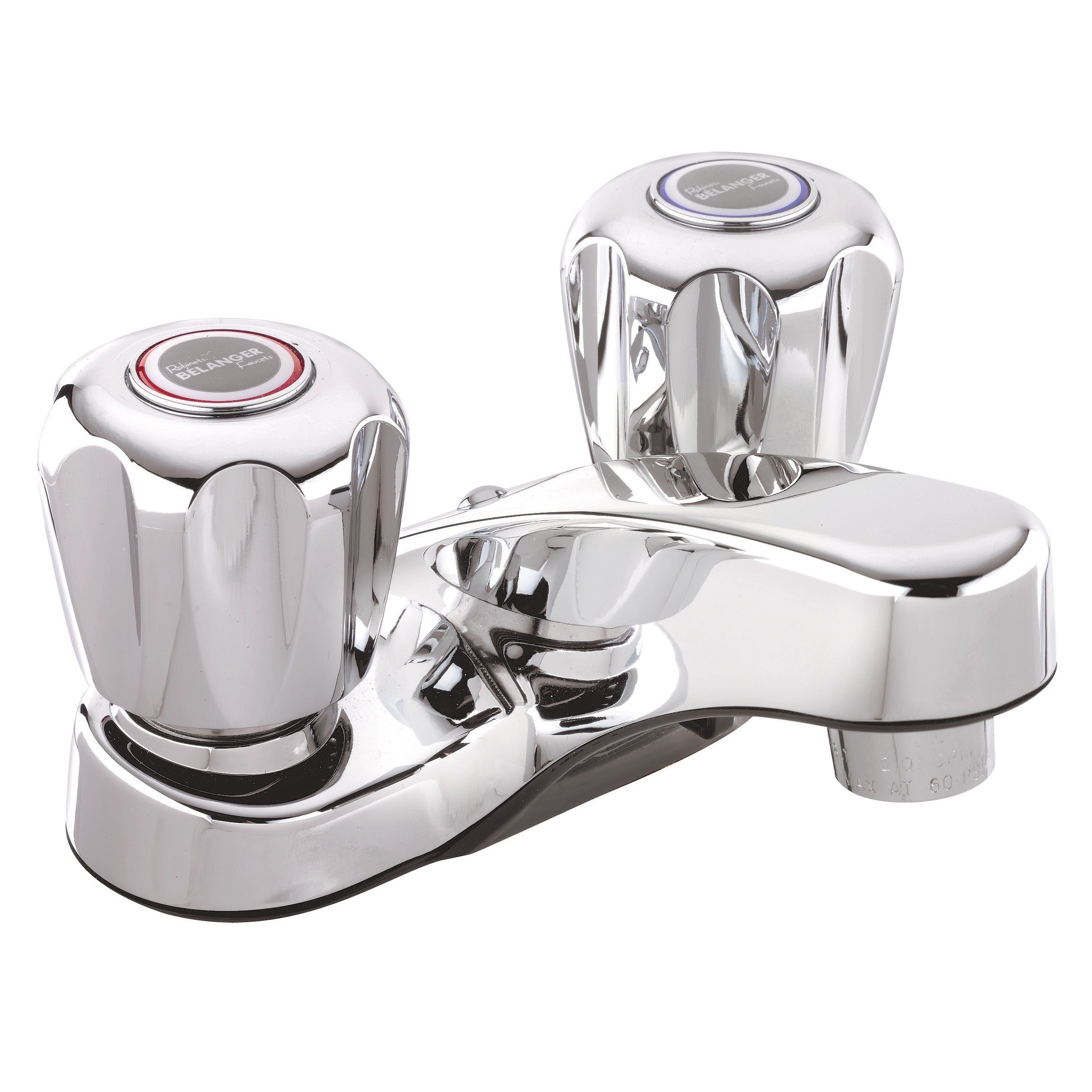 Bathroom Faucet, Polished Chrome