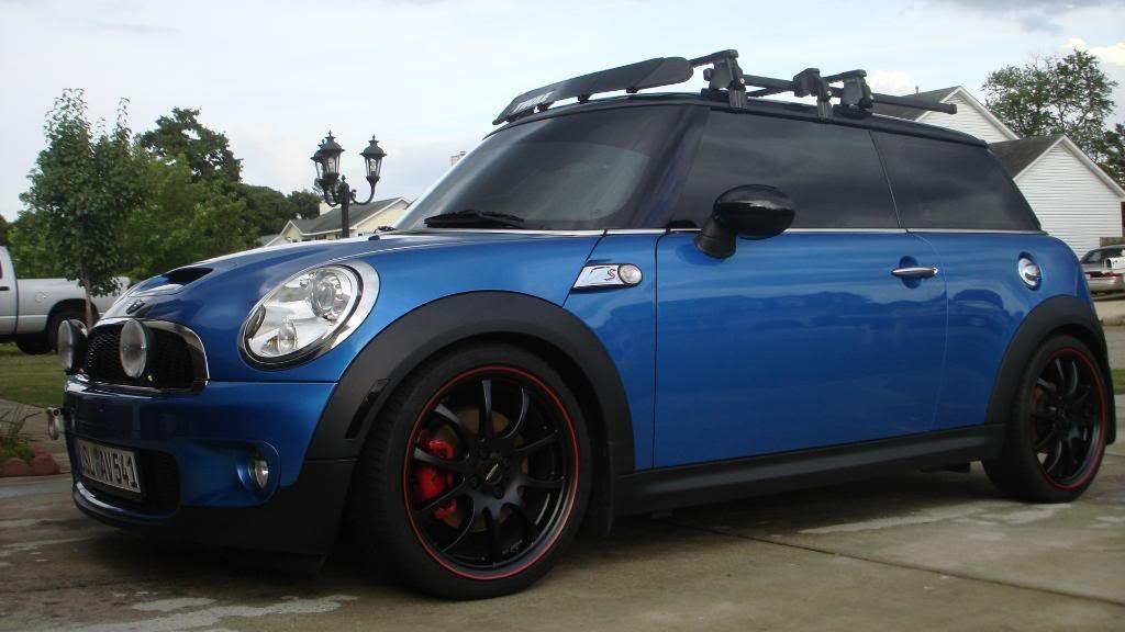 Tint W Rack Rally Lights Mini Coopersroof