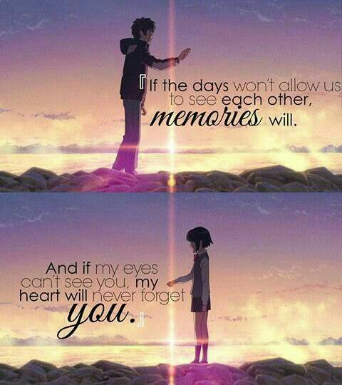Your Name Kimi no Animes Pinterest - vorh nge f r die k che