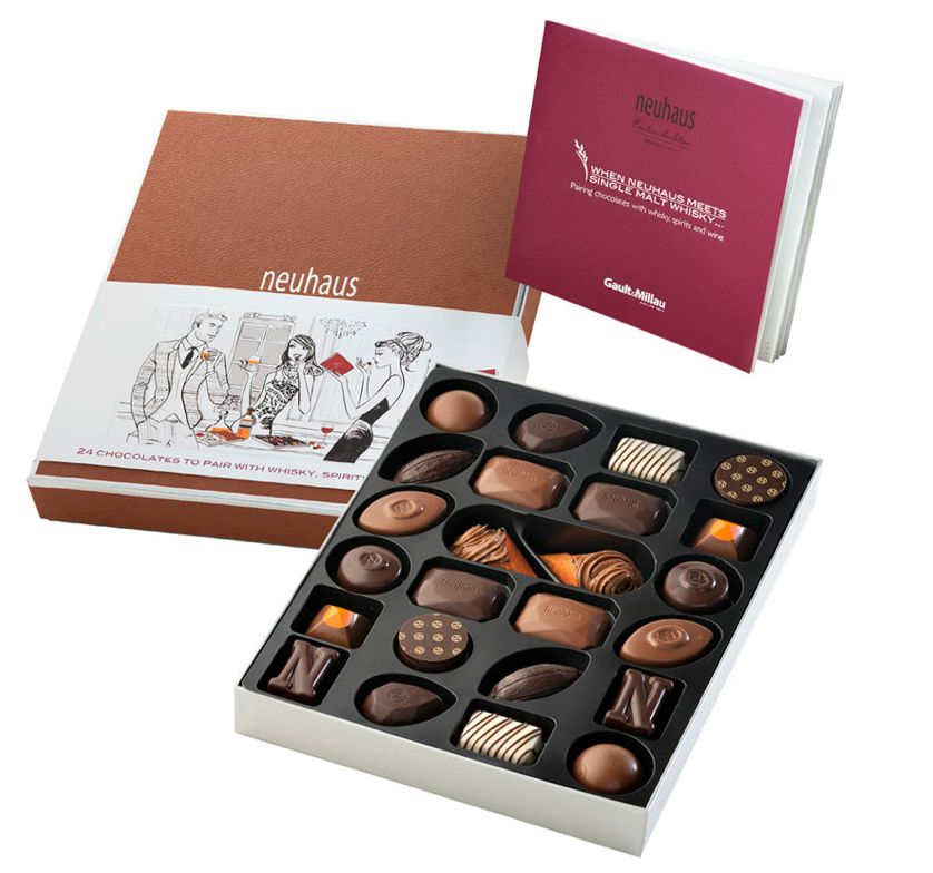 Frenchman's Corner Neuhaus Chocolates...they won't last forever, but that's the point.