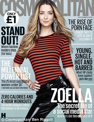 Zoella turned down the chance to meet prince harry pinterest zoella for cosmopolitan uk magazine m4hsunfo
