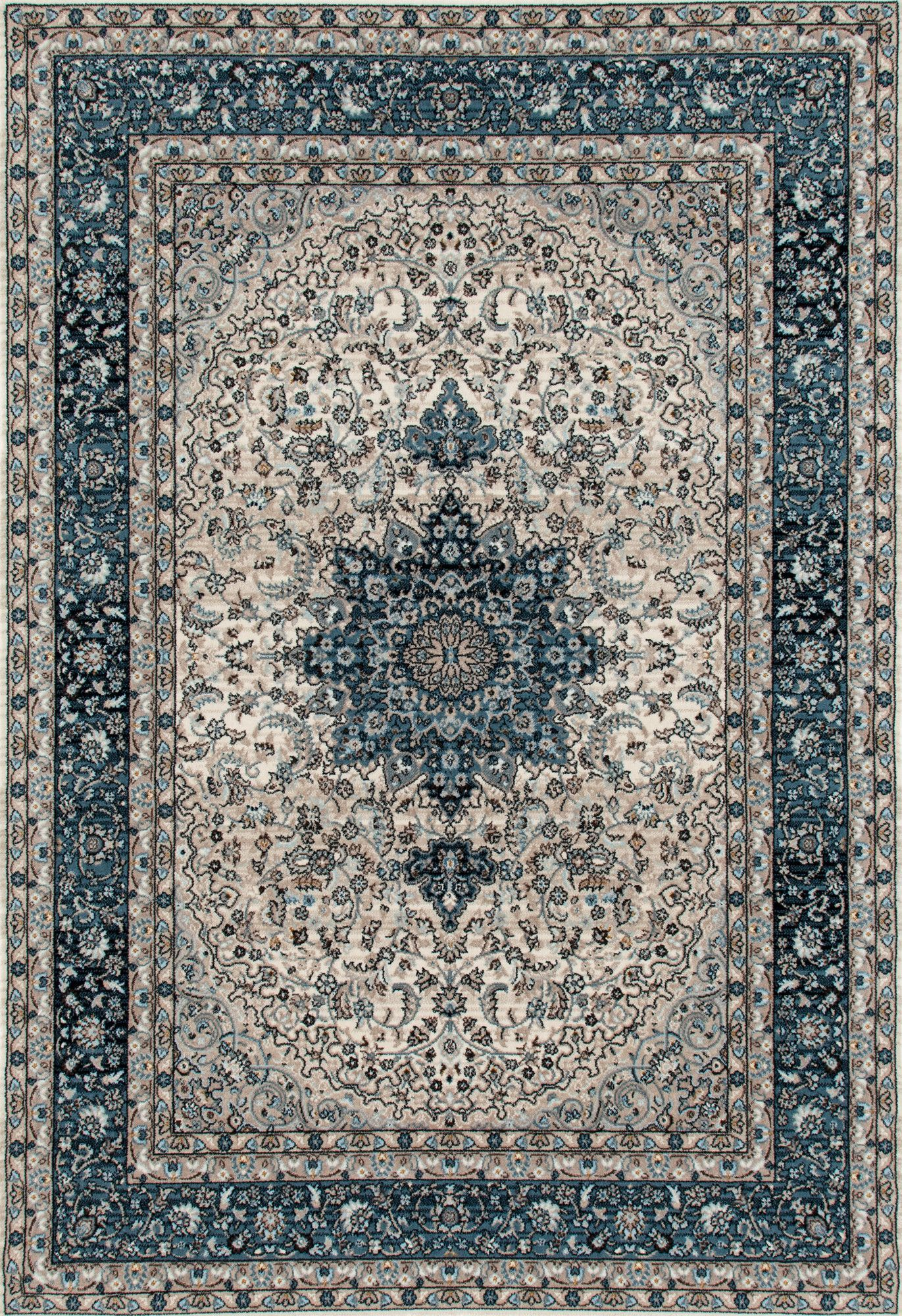 Elite Blue Area Rug