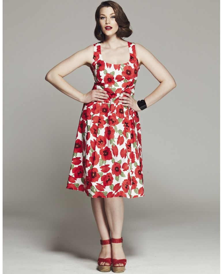 Httpsimplybenew In Dressesbespoke Penelope Poppy Print