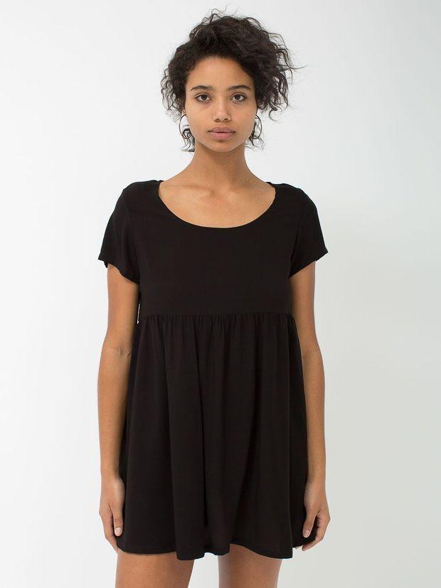 Rayon Babydoll Dress