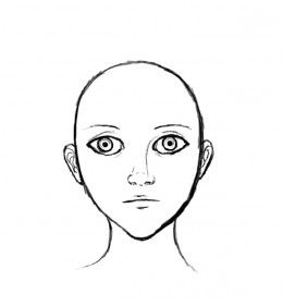 Female Face Outline Drawing Google Search Cool Drawings Easy Drawings Girl Drawing