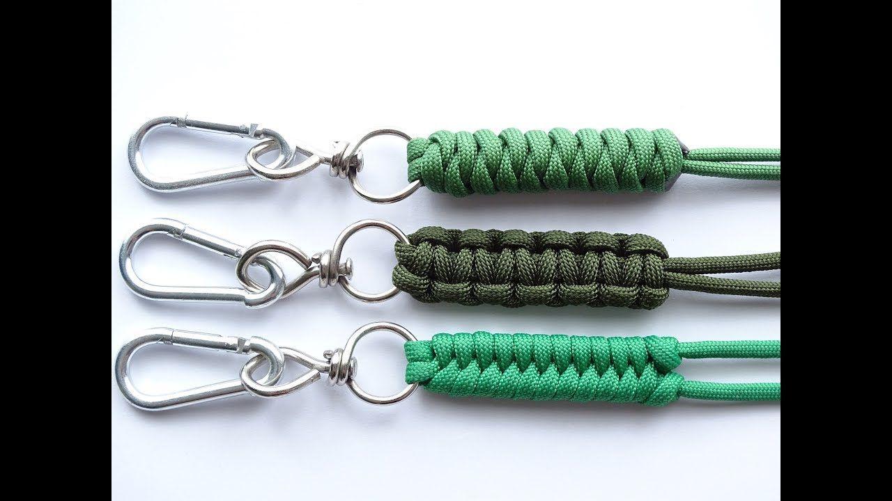 Diy Top 3 Easiest Paracord Neck Knife Keychain Lanyard Cobra