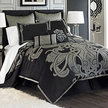 Onyx 8-Piece Comforter Set - jcpenney | bedding | Pinterest