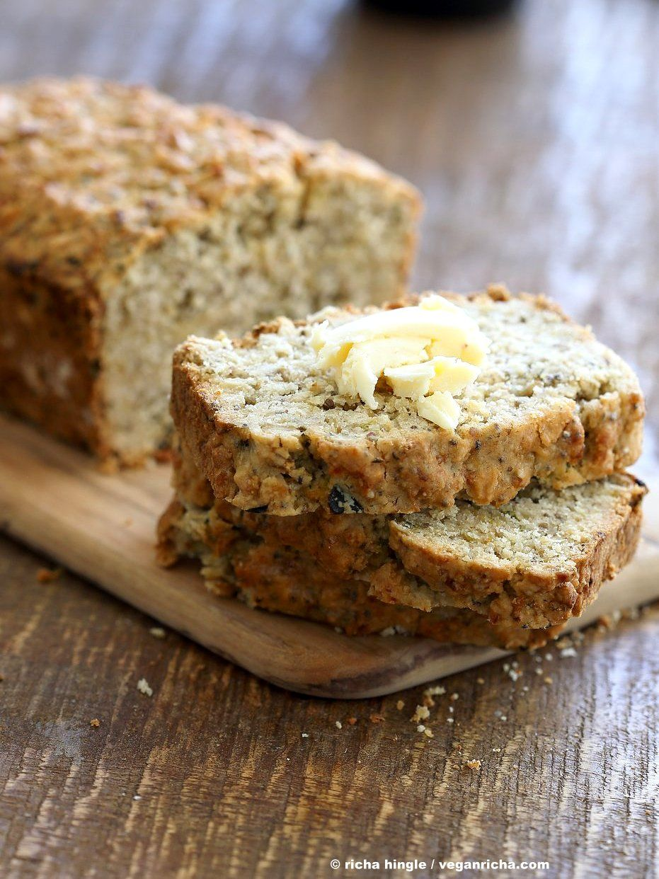 Vegan Gluten Free Zucchini Bread Recipe Gluten Free Oat Bread