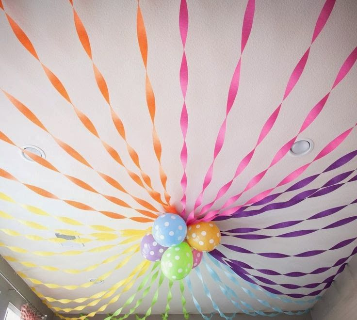 how to decorate with crepe paper streamers allestimenti