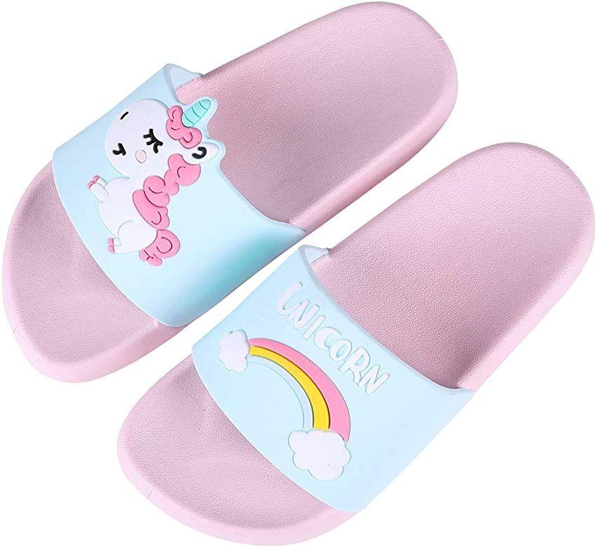 Boys Girls Slide Sandals Kids Outdoor