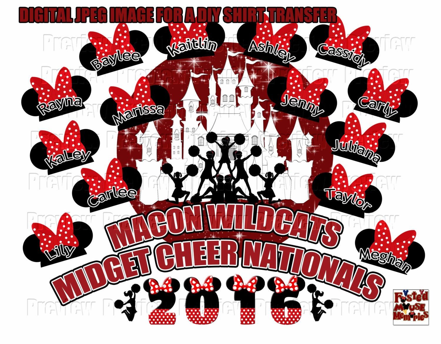 Cheer Shirt Design Ideas custom cheer shirts Personalized Cheer Nationals T Shirt Transfer Design Diy Disney Cheerleaders Shirt Diy Cheerleading Team Shirt Transfer Image