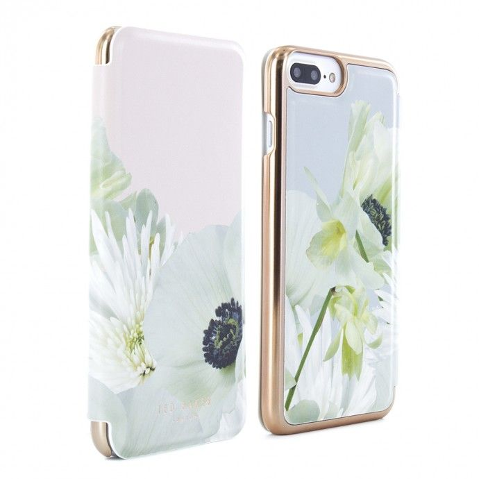 uk availability e1278 705c7 Ted Baker HS16 Mirror Folio Case for iPhone 8 Plus / 7 Plus ...