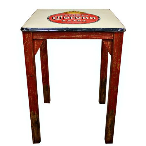 Pub Bar Table Corona Beer Sign Table Furniture