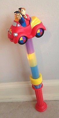 The Wiggles Toy Light Up Stick Wand Big Red Car Ideas