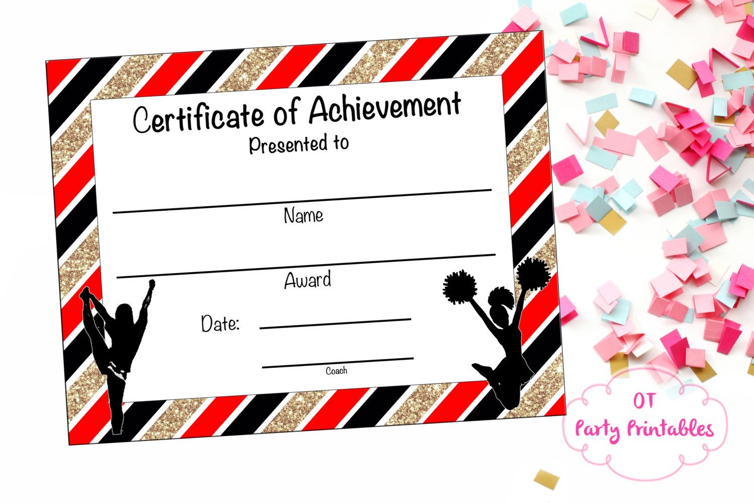 Cheer certificates templates cheerleading certificate cheerleading cheer certificates templates cheerleading certificate cheerleading award cheerleading yelopaper Image collections